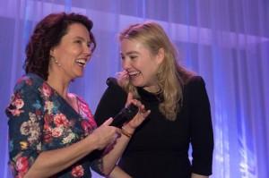 Schultz van Haegen met Kim Coppes